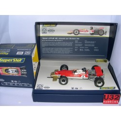 TEAM  LOTUS TYPE 49  GP NURBURGRING 1969 GRAHAM HILL Nº1  LEGENDS SERIES LTED.ED.