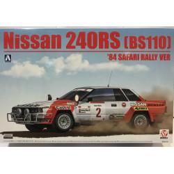 NISSAN 240RS  BS110 SAFARI RALLY 1984 Nº2