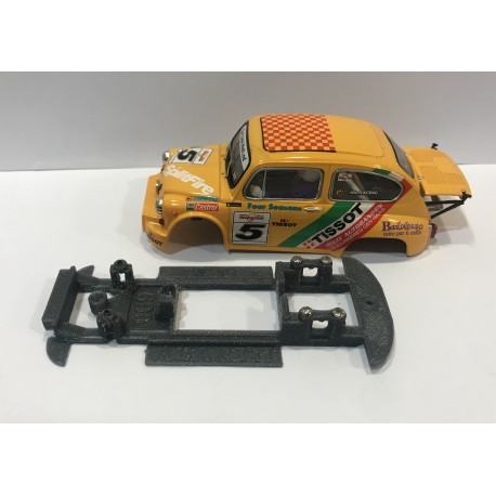 CHASIS 3D FIAT SEAT 1000 ABARTH SCALEXTRIC