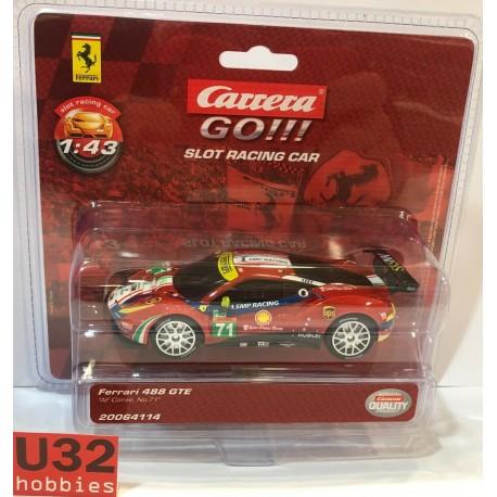 CARRERA GO!!! 64114 FERRARI 488 GTE Nº71