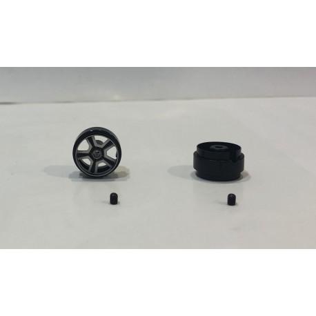 LLANTA SPA LA SOURCE 16.9x10mm (x2)  1.18gr. EJE 2.38mm