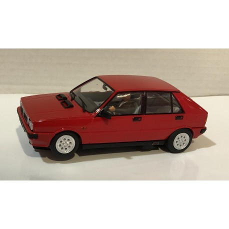 LANCIA DELTA HF 4WD RED STREET CAR