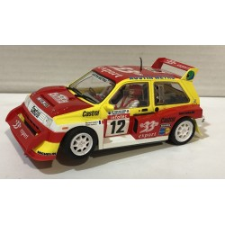 MG METRO 6R4  TOUR DE CORSE 1986 33 EXPORT Nº12