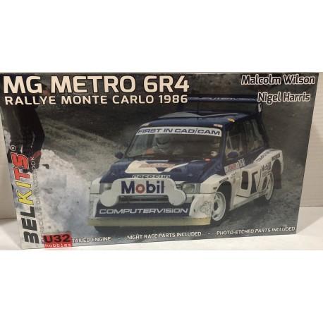 MG METRO 6R4 RALLYE MONTE CARLO1986  MALCOLM WILSON-NIGEL HARRIS