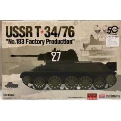 TANQUE USSR T-34/76 Nº183 FACTORY PRODUCTION