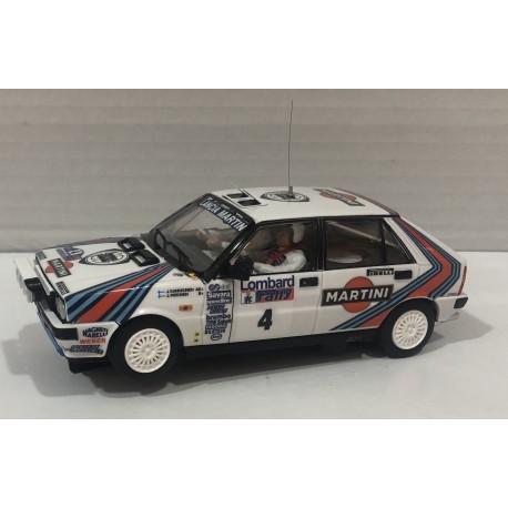 LANCIA DELTA HF 4WD RAC RALLYE 1987 MARTINI Nº4