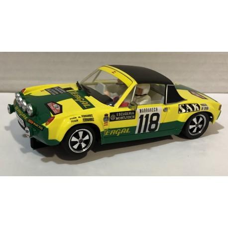 PORSCHE 914/6 GT  MONTECARLO 1971 TERGAL Nº118