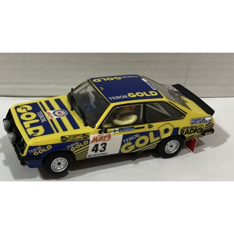 FORD ESCORT MKII RS2000 1000 LAKES RALLY'79 TEBOIL GOLD Nº43